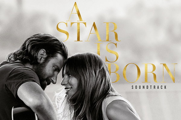 A Star Is Born is the soundtrack for a romantic musical drama.