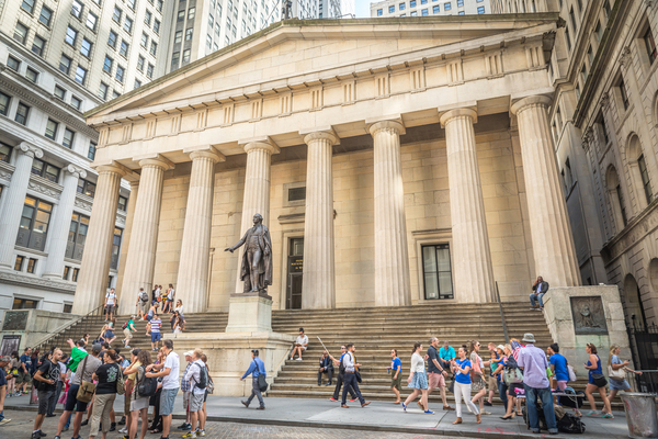 Federal Hall is the birthplace of American government.