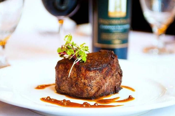 One of the best steakhouses in Brooklyn is Amber Steak House.