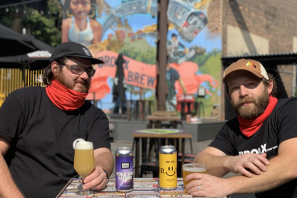 World Gone Hazy from the Bronx Brewery