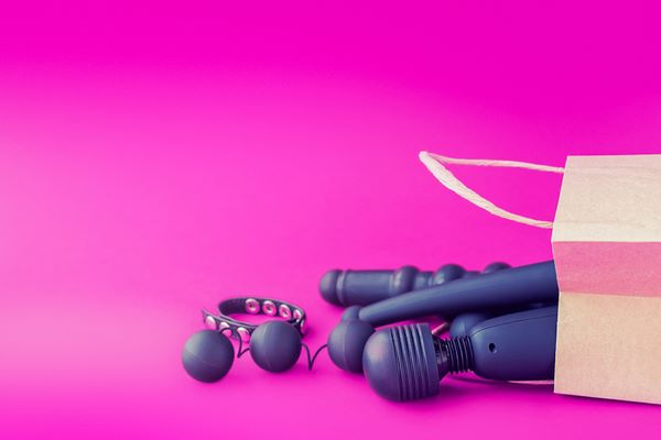 There are all different types of sex toys.