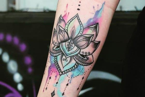 Watercolor tattoo trends
