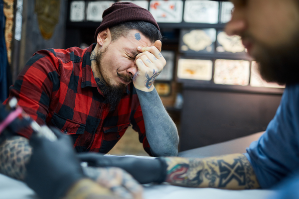 The upper arm or the elbows hurt a lot while getting tattoos